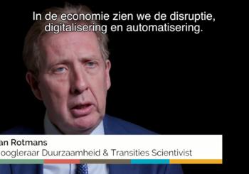 Jan Rotmans: 'Systemen kunnen alleen veranderen als mensen veranderen'